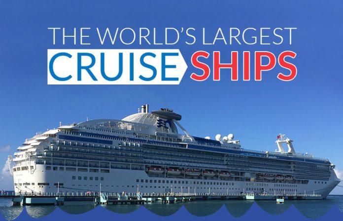 Worlds largest Cruise Ships
