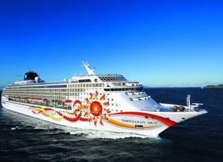 Norwegian Sun at Sea