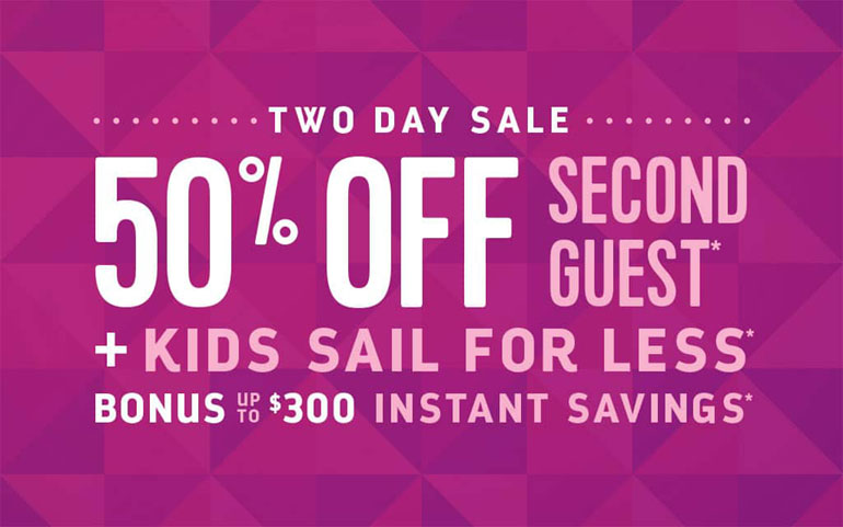 Royal Caribbean Two-Day Sale
