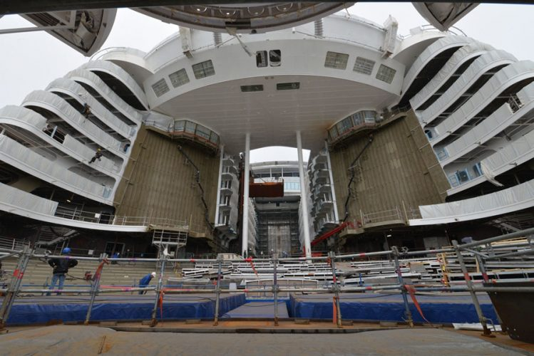 Symphony of the Seas Fitting Out Phase