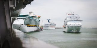 Cruise Ships in Port Galveston