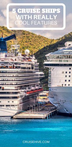5 Cruise Ships With Really Cool Features