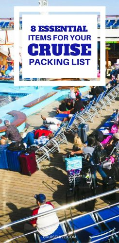 8 Essential Items for Your Cruise Packing List