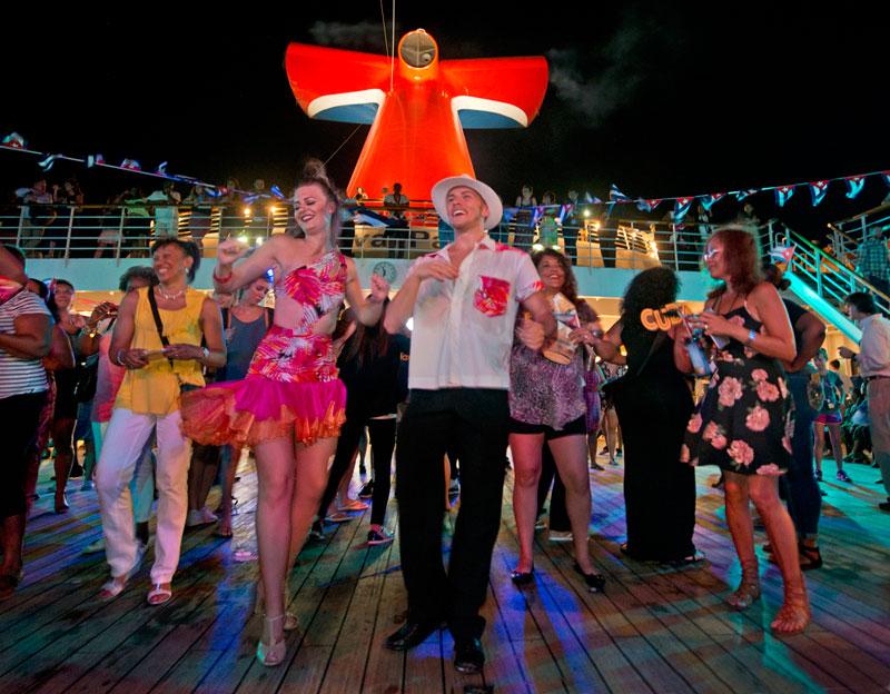 Carnival Paradise In Havana, Cuba