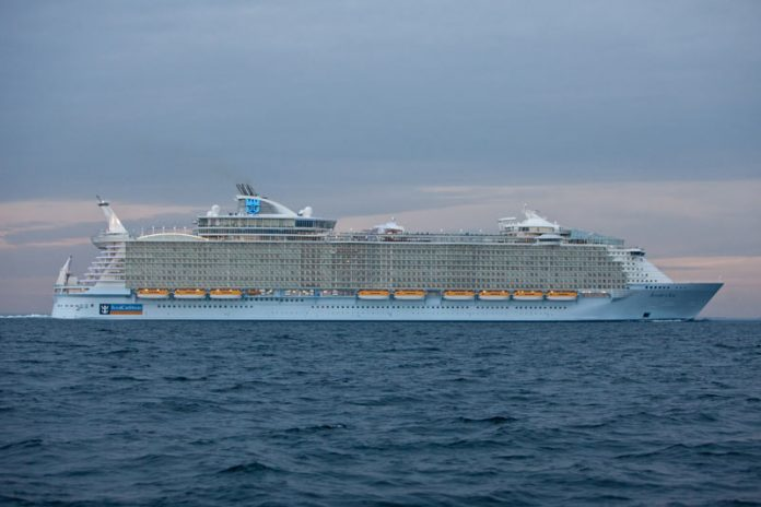 Allure of the Seas at Sea
