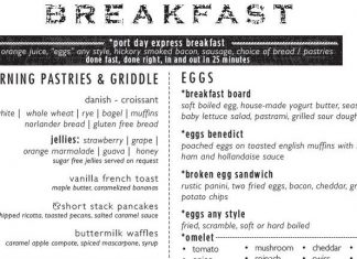 carnival victory is testing a new port day breakfast dining room menu