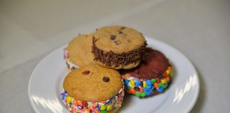 Carnival Ice Cream Sandwiches