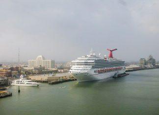 Carnival Cruise Ship, Galveston