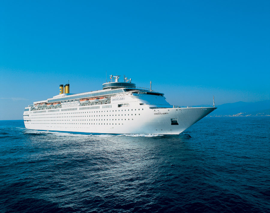 Costa neoClassica At Sea