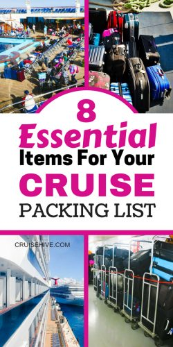 Here are 8 essential cruise tips for your packing list before your cruise vacation.