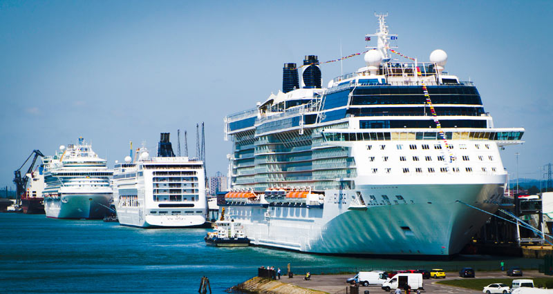 Port of Southampton Cruise Ships