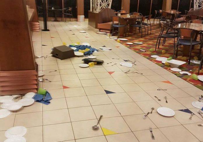 Carnival Spirit Damage