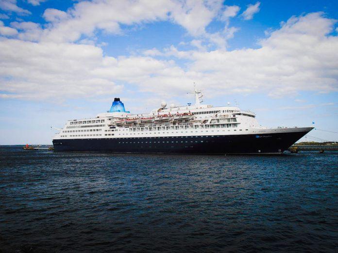 Saga Sapphire at Sea
