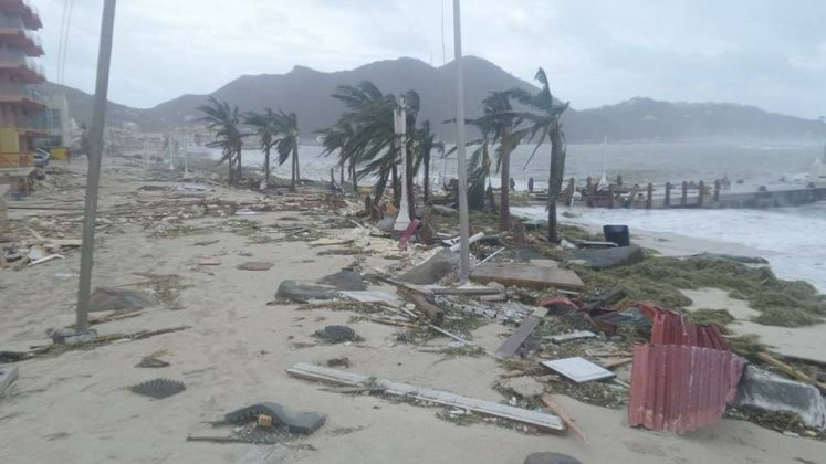 Popular Cruise Passenger Locations In St Maarten Destroyed