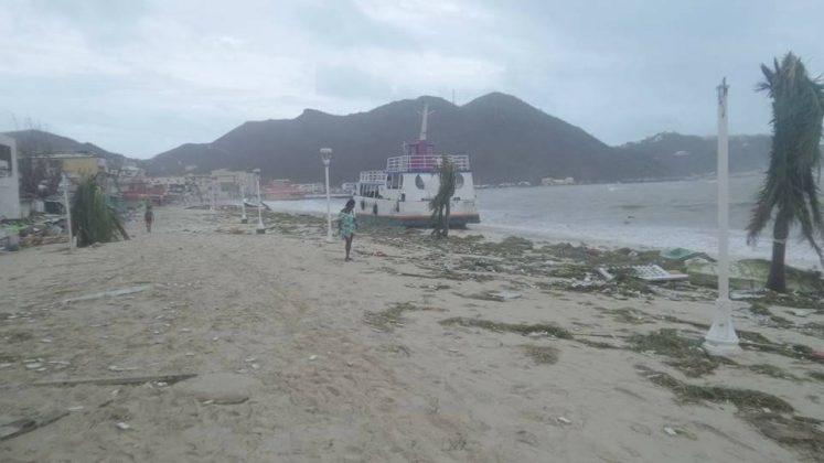 St. Maarten Hurricane Destruction