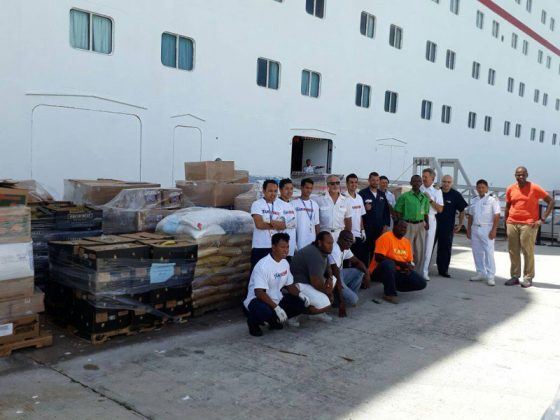 Carnival Fascination Hurricane Relief Effort