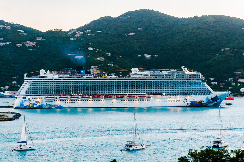 Norwegian Escape in U.S. Virgin Islands