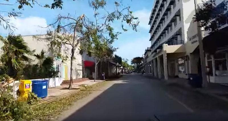 Footage Emerges Of Popular Duval Street In Key West After Irma