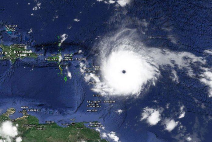 Hurricane Irma Heading Towards Western Caribbean