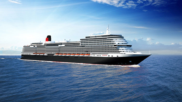 Carnival to build fourth ship for Cunard