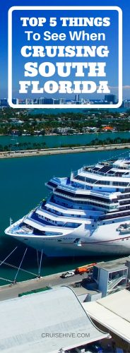 Top 5 Things to See When Cruising South Florida