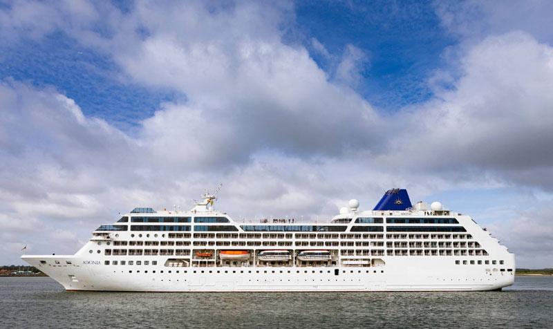 P&O Adonia Cruise Ship