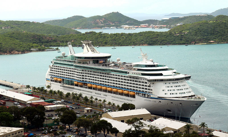 Adventure of the Seas in St. Thomas
