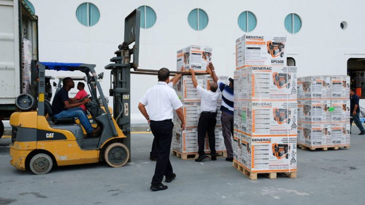 Adventure of the Seas Relief Efforts