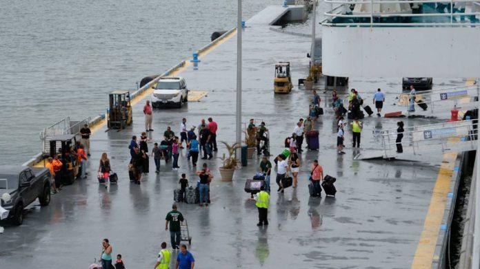 Adventure of the Seas Relief Efforts