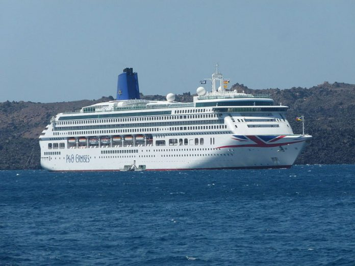 P&O Aurora Cruise Ship