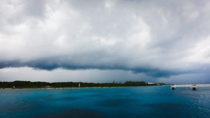 Bad Weather on a Cruise