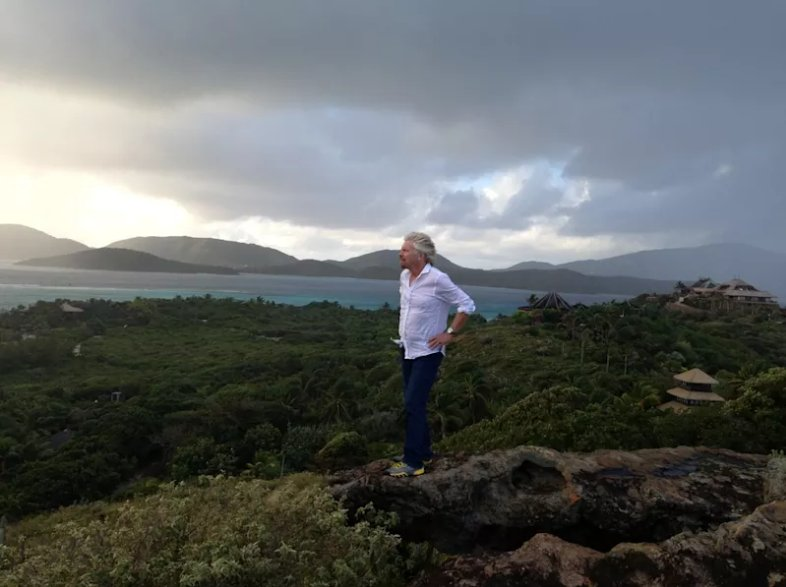 Sir Richard Branson calls for global  aid plan for Irma victims