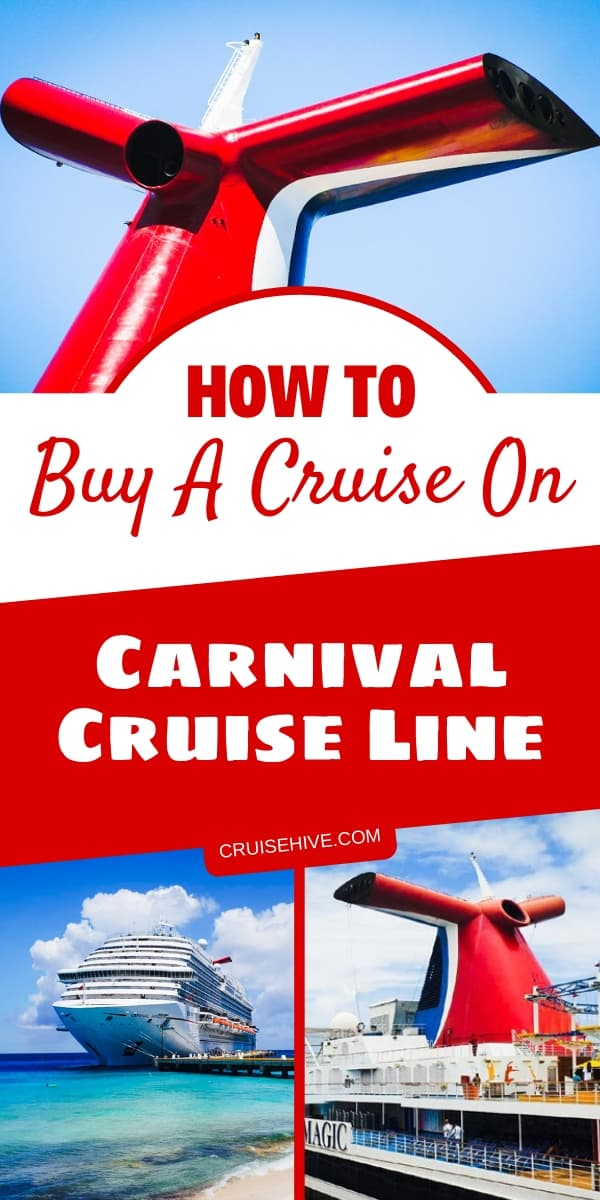 Here are cruise tips on how to buy a Carnival cruise vacation. Ways to find the best deal and itinerary so that you aren't disappointed.