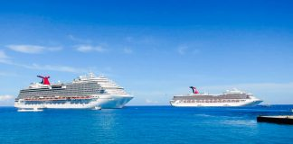Carnival Cruise Ships In Grand Cayman
