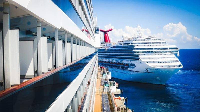 Carnival Cruise Ships in Cozumel