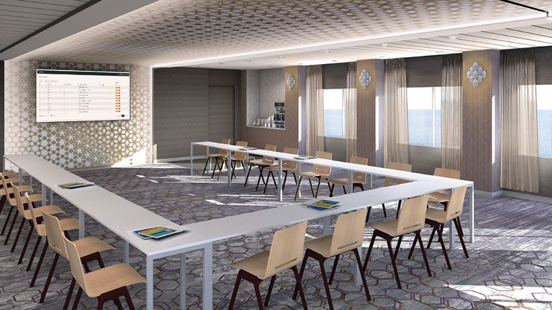 Celebrity Edge, The Meeting Place
