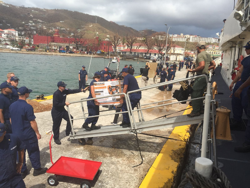 Coast Guard in St. Thomas