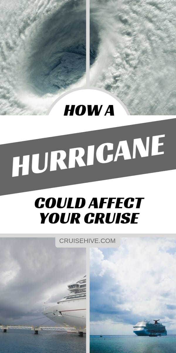 Cruise tips on how a Hurricane or even a Tropical Storm could affect your cruise vacation.  Details on itinerary changes, travel destinations in the Caribbean and more.