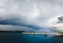 Carnival Dream Cruise Ship Docked