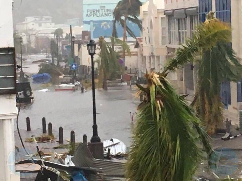 St. Marteen Hurricane Irma Damage