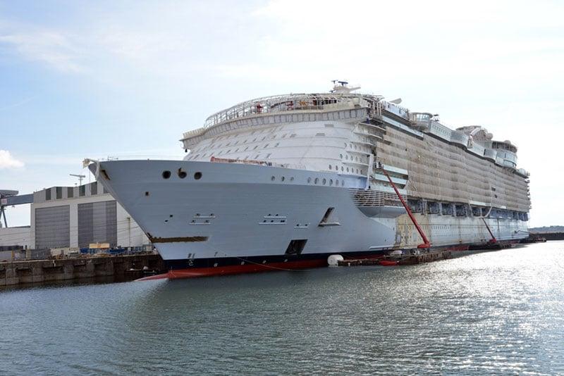 Symphony of the Seas Construction