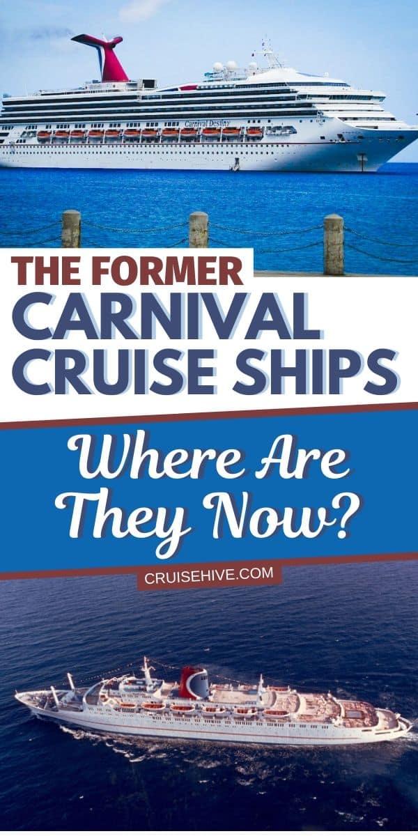 Former Carnival Cruise Ships
