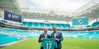 MSC Cruises and Miami Dolphins Partnership