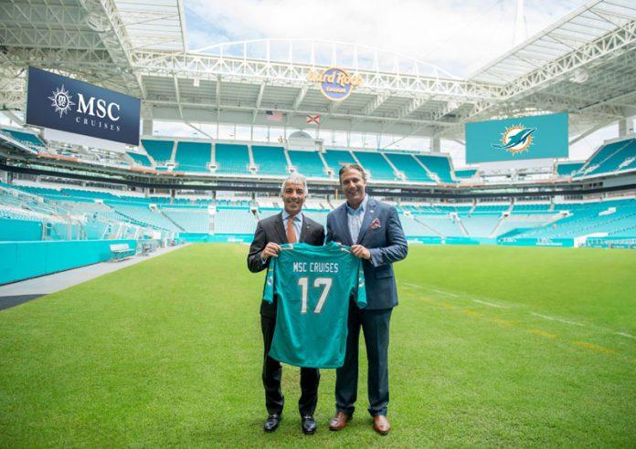 MSC Cruises and Miami Dolphins Partnership