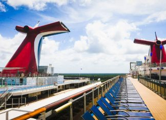 Carnival Cruise Ship Funnels