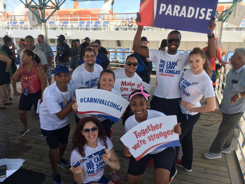 Carnival Cruise Line Conga, Carnival Paradise