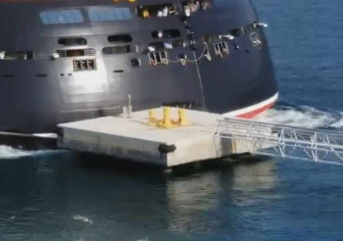 Disney Dream Nassau Collision