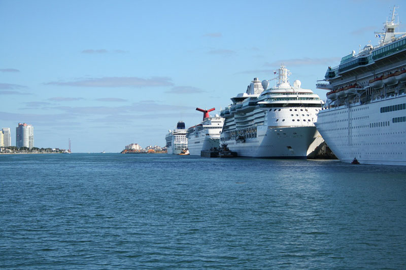 Port Miami Cruise Ships
