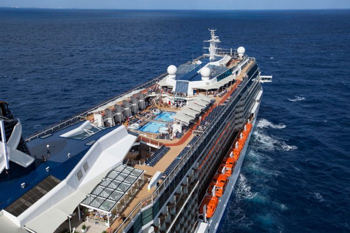 Celebrity Reflection At Sea