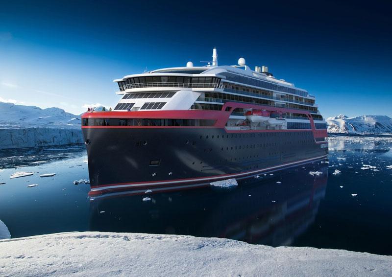 MS Roald Amundsen Rendering